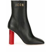 Dsquared2 Ankle Boot Icon - Preto