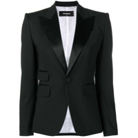 Dsquared2 Blazer De Smoking - Preto