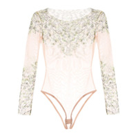 Dsquared2 Body Floral Com Transparência - Neutro