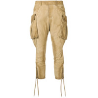 Dsquared2 Calça Cargo Cropped - Neutro