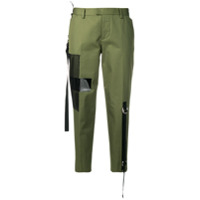 Dsquared2 Calça Chino Cropped - Verde