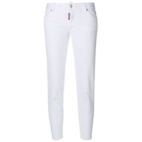 Dsquared2 Calça Jeans Cropped 'cool Girl' - Branco
