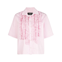 Dsquared2 Camisa Com Bordado - Rosa