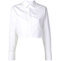 Dsquared2 Camisa Cropped - Branco