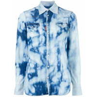 Dsquared2 Camisa Jeans - Azul