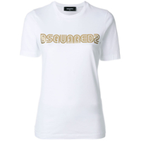 Dsquared2 Camiseta Com Estampa De Logo - Branco