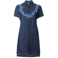 Dsquared2 denim shirt dress - Azul