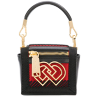 Dsquared2 Clutch Mini 'dd' - Preto