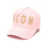 Dsquared2 Icon Patch Cap - Rosa