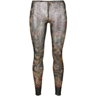 Dsquared2 Legging Com Estampa - Estampado
