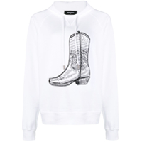 Dsquared2 Moletom Com Estampa - Branco