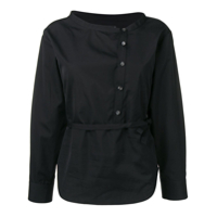 Dsquared2 Plain Belted Shirt - Preto