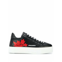 Dsquared2 Tênis Com Patch - Preto