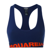Dsquared2 Top Esportivo - Azul