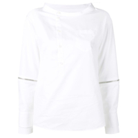 Dsquared2 Zip Detail Shirt - Branco