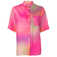 Each X Other Camisa Tie-Dye - Rosa