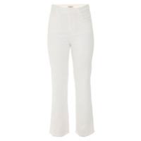 Egrey Calça Cropped Reta - Off White