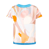 Emilio Pucci Abstract Printed T-Shirt - Azul