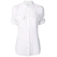 Equipment Slim Signature Shirt - Branco