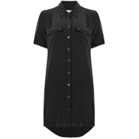 Equipment Shortsleeved Shirt Dress - Preto