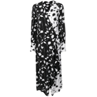 Equipment Vestido Floral - Preto