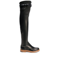 Ermanno Scervino Bote Over The Knee - Preto