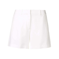Ermanno Scervino High Waisted Shorts - Branco