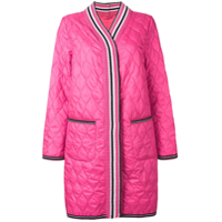 Ermanno Scervino Quilted Cardigan Style Coat - Rosa
