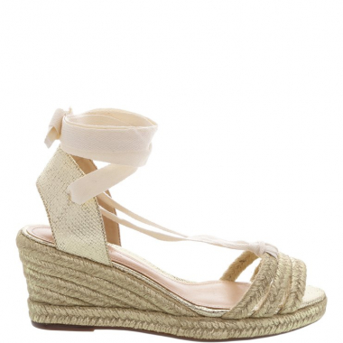 Espadrille Natural Lace-Up | Schutz