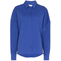 Esteban Cortazar Oversized Boxy Fit Shirt - Azul