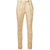 Etro Cropped Tailored Trousers - Neutro