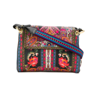 Etro Floral Shoulder Bag - Preto