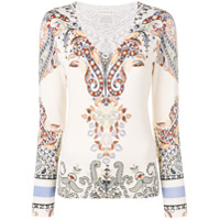 Etro Paisley Sweater - Neutro