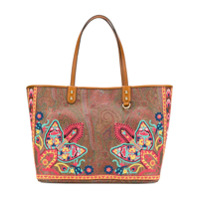 Etro Shopping Tote Bag - Marrom