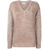 Etro V-Neck Sweater - Neutro