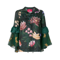 F.r.s For Restless Sleepers Blusa Floral - Verde