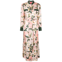 F.r.s For Restless Sleepers Chemise Com Estampa Floral - Rosa