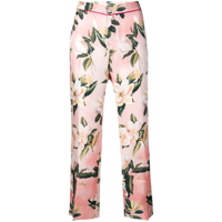 F.r.s For Restless Sleepers Calça Cropped Com Estampa Floral - Rosa