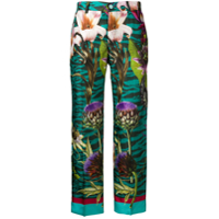 F.r.s For Restless Sleepers Calça Floral - Verde