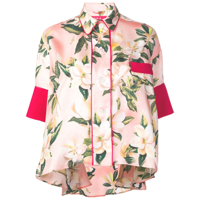 F.r.s For Restless Sleepers Camisa Com Estampa Floral - Rosa