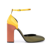 Fabrizio Viti Scarpin Color Block - Estampado