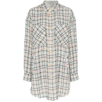 Faith Connexion Camisa Oversized Xadrez - Multicoloured