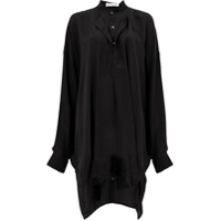 Faith Connexion Layered Sack Shirt - Preto
