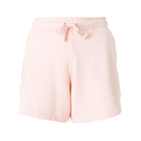 Faith Connexion Short De Moletom Com Listra Lateral - Rosa