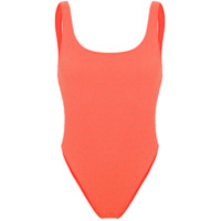 Faith Connexion Studded Swimsuit - Laranja