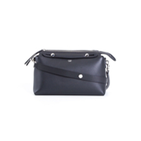 Fendi Bolsa Média 'by The Way' De Couro - Preto