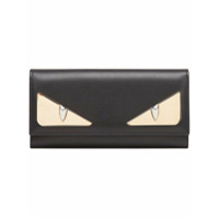 Fendi Carteira 'bag Bugs' Metalizada - Preto