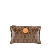 Fendi Clutch Ff - Neutro