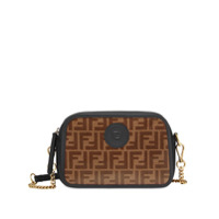 Fendi Ff Motif Camera Bag - Marrom