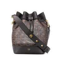 Fendi Small Mon Tresor Bucket Bag - Marrom